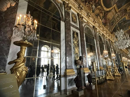 Versailles Palace inside