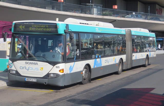 Paris orly sud bus - Bus 183 aeroport orly sud porte de choisy ...