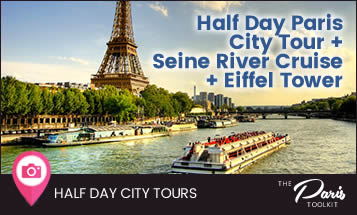 Paris City Tour, Seine River Cruise and Eiffel Tower