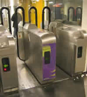 Paris Ticket Barriers