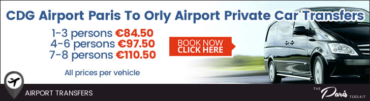 Paris CDG - Orly Private Car Transfer