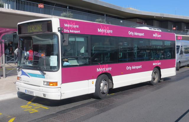 Mercure Orly Airport Hotel Shuttle Bus