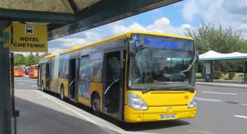 Disneyland Paris Dream Castle Hotel Shuttle Bus